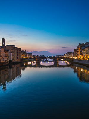 Italy - Florence - Arno River - Bridge