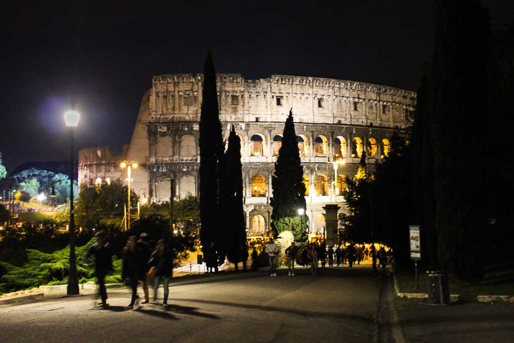 Good Friday Celebration at the Colosseum
