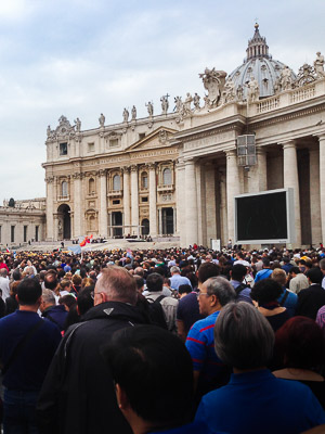 Easter Sunday at the Vatican