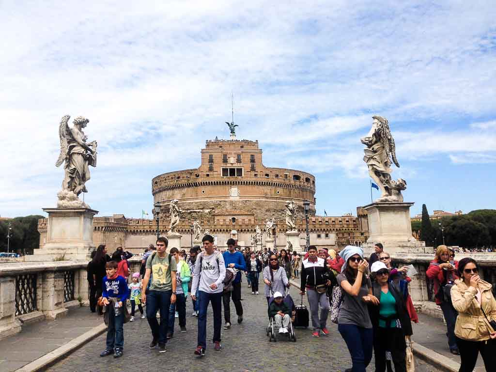 Italy Rome - Castel Sant Angelo