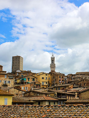 Italy Siena View