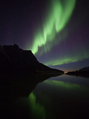 Norway Tromso Northern Lights
