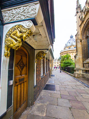 Oxford England - Narnia inspiration