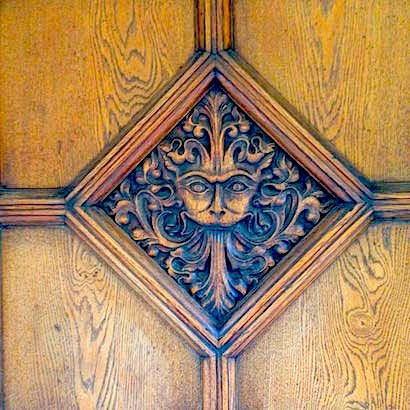 The Narnia Door in Oxford