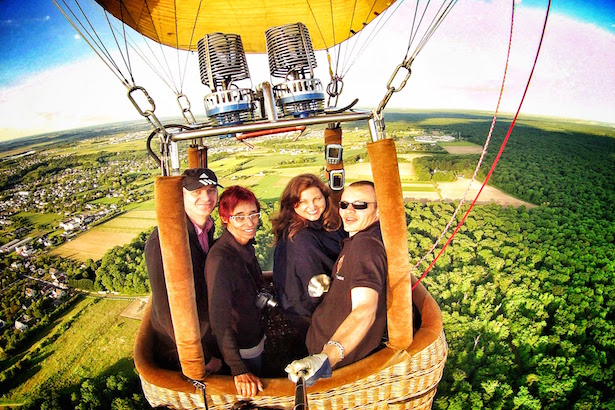 Hot Air Ballooning over the Loire Valley
