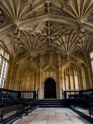 Oxford England: Bodliean Library
