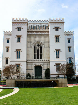Baton Rouge, Louisiana: Old State Capitol