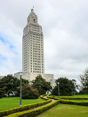 Baton Rouge - Louisiana State Capitol