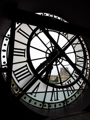 France - Musee D'Orsay - Clock