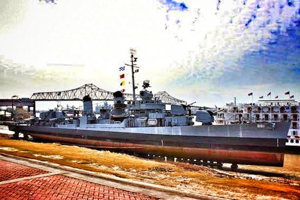 Baton Rouge - USS Kidd