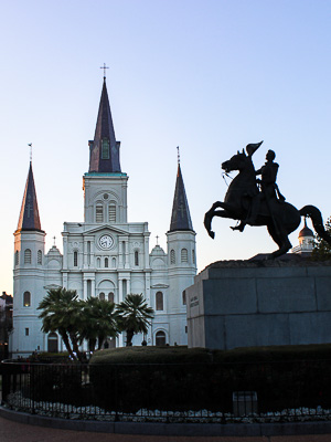 New Orleans Slang - Jackson Square