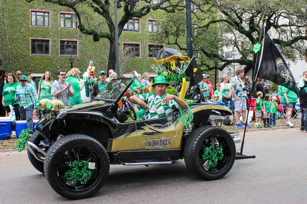 New Orleans - St. Patricks Day Parade