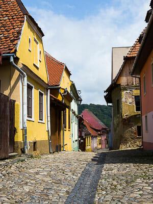 Romania - Sighisoara - Street