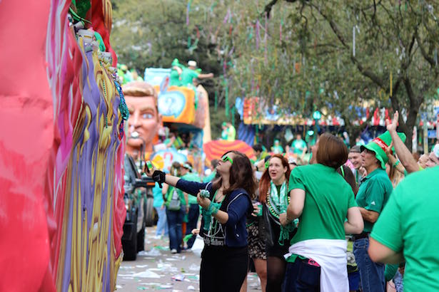 New Orleans Irish Channel Parade