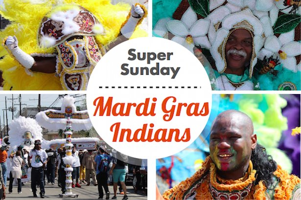 Super Sunday - Mardi Gras Indians Parade