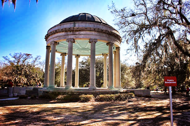 New Orleans City Park Bandstand