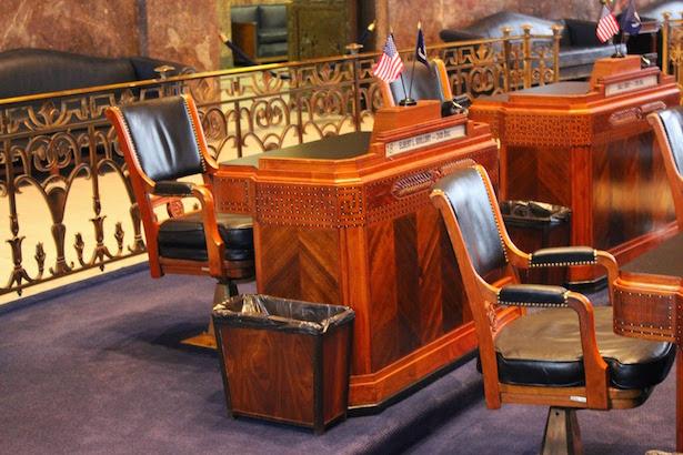 Louisiana State Capitol Senate Chamber