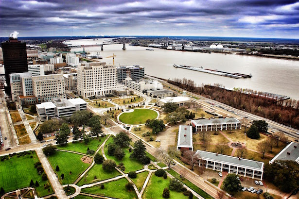 Louisiana State Capitol View from Observation Deck