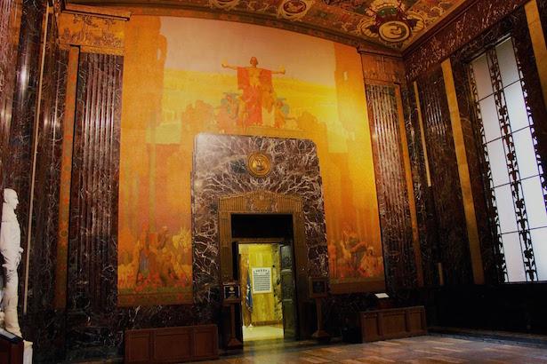 Louisiana State Capitol Art Deco Mural