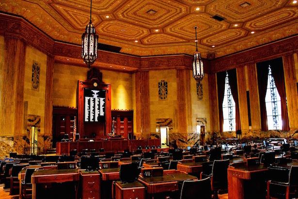 Louisiana State Capitol House Chamber