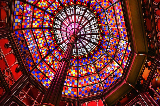 Baton Rouge Old State Capitol Stained Glass Dome