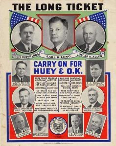 Huey Long Ticket