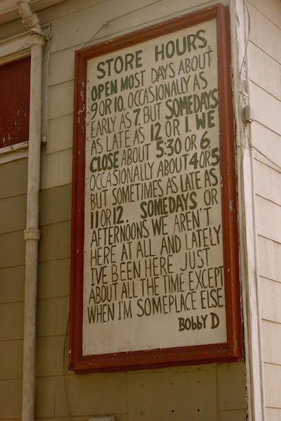 Daigle's Grocery Store Sign