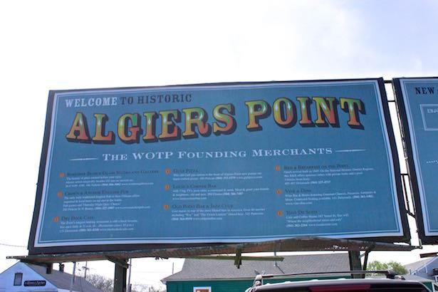 Algiers Point Map