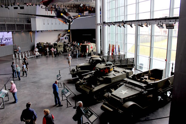 The National World War II Museum in New Orleans - Boeing Pavilion