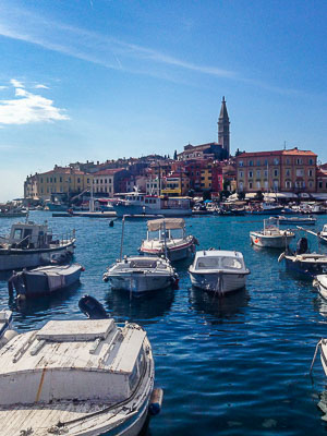 Croatia - Rovinj - City View