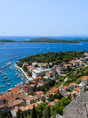 Hvar Croatia - Fort View