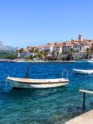 Croatia Korcula - Town View