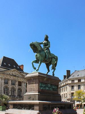 France - Orleans - Joan of Arc
