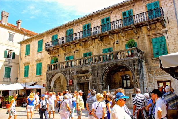 Kotor - Venetian Palace - BlueSkyTraveler.com