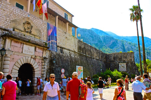 Kotor - Sea Gate- BlueSkyTraveler.com