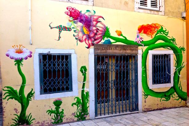 Croatia - Zadar Graffitie