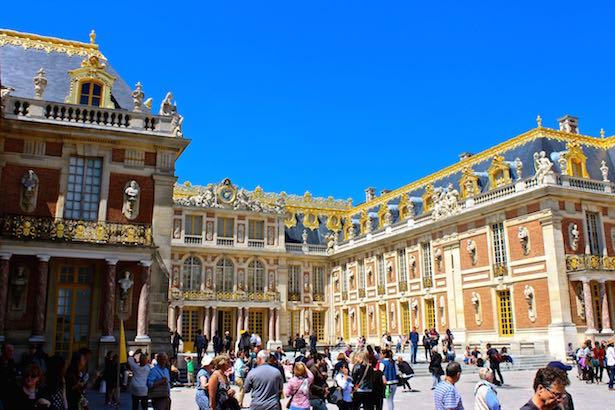 Versailles Entrance