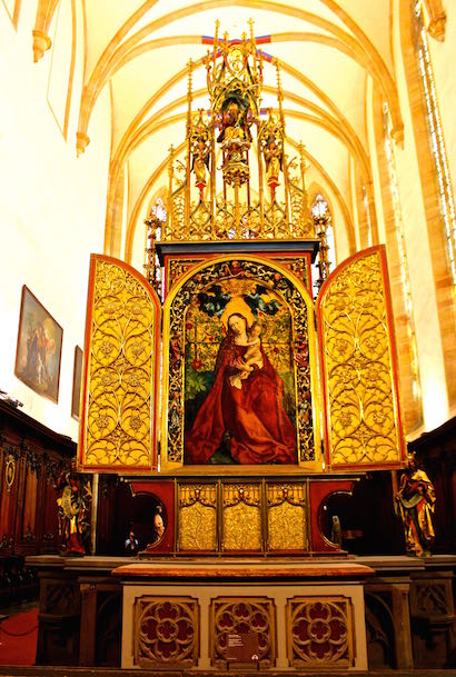 Colmar Virgin of the Roses