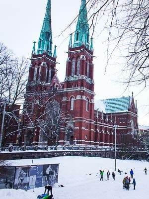 Finland - Helsinki - Ice Skating