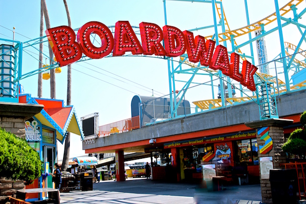 BlueSkyTraveler - Santa Cruz Boardwalk
