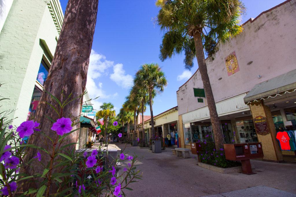 Photo: Teri Didjurgis • BlueSkyTraveler || St. Augustine's St. George Street