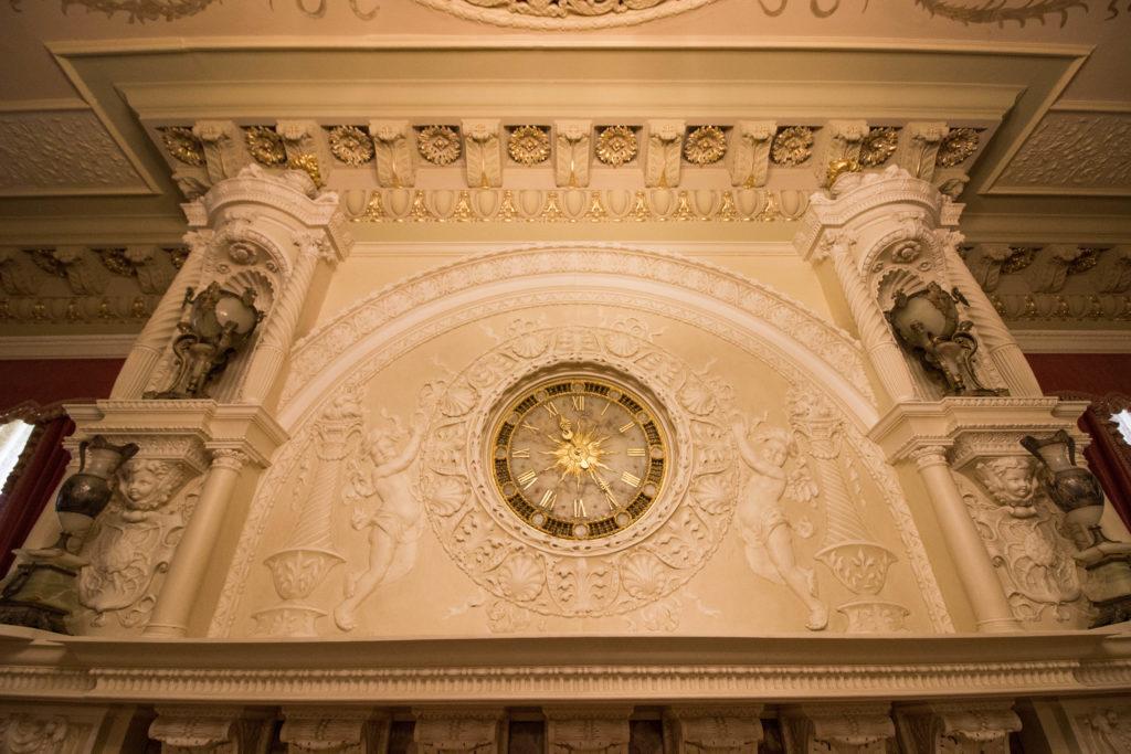 Photo: Teri Didjurgis • BlueSkyTraveler || Ponce de Leon Hotel • Flagler College •Edison Clock