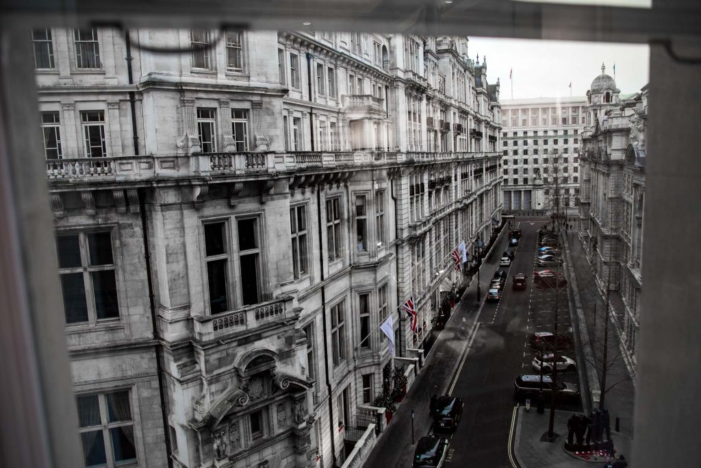 UK London Corinthia Hotel View from Room