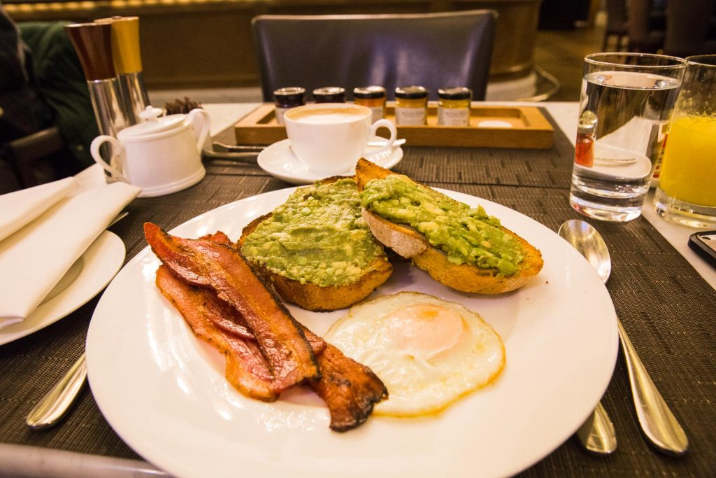 UK London Corinthia Hotel Breakfast