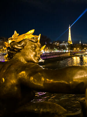 France Paris - Pont Alexandre III Bridge