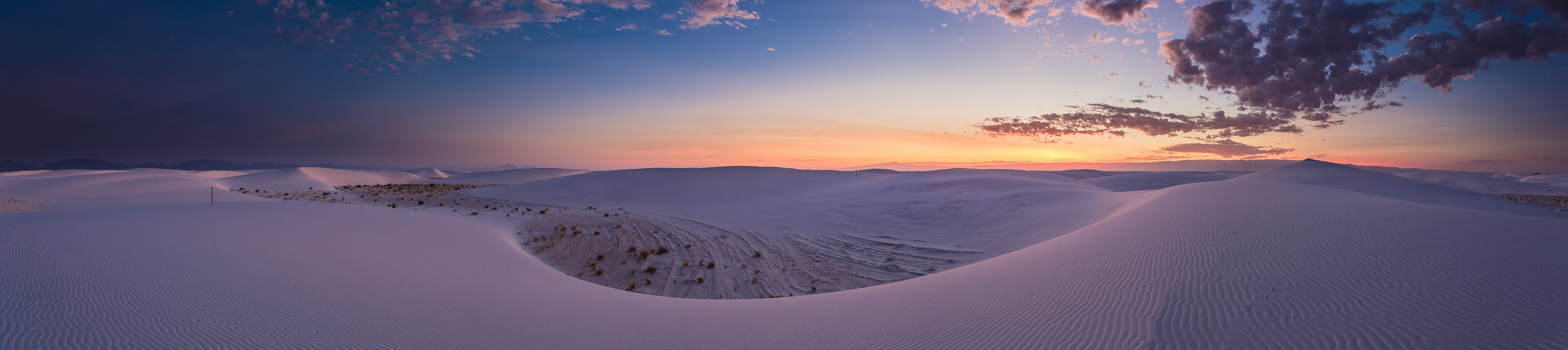 Ruidoso - New Mexico - White Sands Panorama