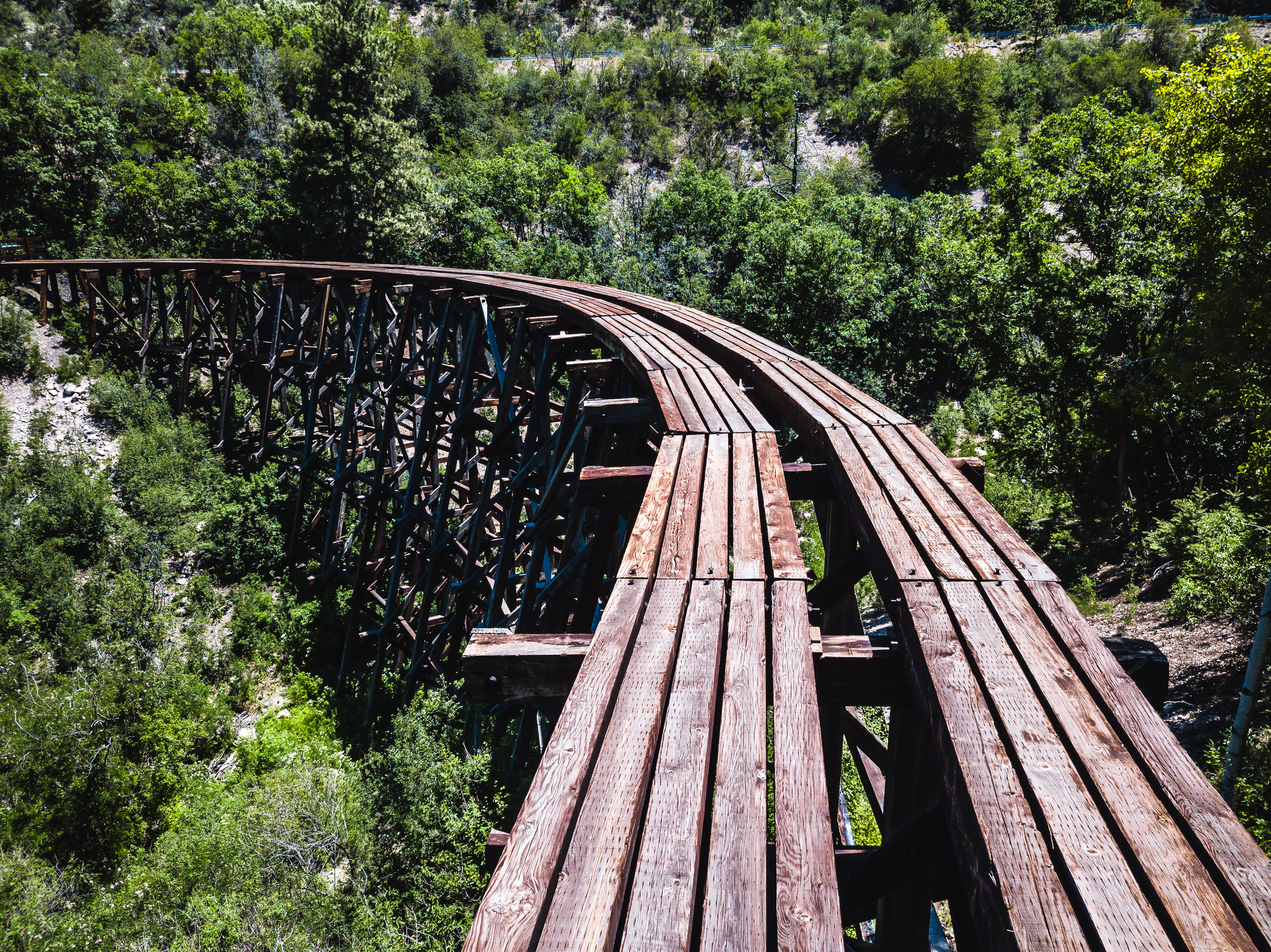 Ruidoso - New Mexico - End of the Trail Trestle