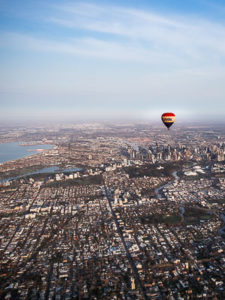 Australia Melbourne - Hot Air Balloon