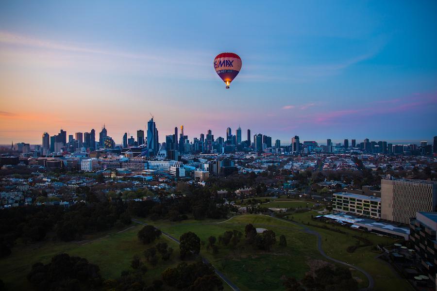 Hot Air Ballooning in Melbourne Australia