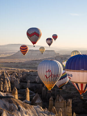 Turkey Cappadocia - Hot Air Ballooning